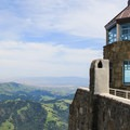 The summit building's tower.- Mount Diablo Summit