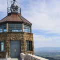 The Mount Diablo summit tower.- Mount Diablo Summit