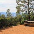 Juniper's campsites offer great views of Diablo Valley.- Juniper Campground