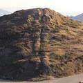 HIking trails criss-cross Noe Peak.- Twin Peaks