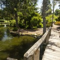 Point Defiance Park Botanical Gardens.- Point Defiance Park