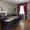 The dining area in Factor's House, Fort Nisqually.- Fort Nisqually Living History Museum