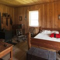 The laborer's dwelling, Fort Nisqually.- Fort Nisqually Living History Museum