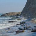 Beaches below Opal Cliffs.- Opal Cliffs