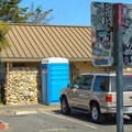 Restrooms are available in the parking lot.- Opal Cliffs