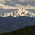 Mount Jefferson (10,495') from Fish Creek Mountain.- Fish Creek Mountain