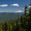 The view from the summit of Fish Creek Mountain.- Fish Creek Mountain