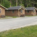 Cama Beach State Park features seven deluxe cabins.- Cama Beach State Park Cabins