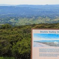 Juniper Campground offers vistas that are comparable to those from nearby Diablo Overlook.- Juniper Campground