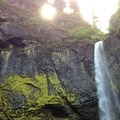 The Munra Point trail is located between Elowah Falls and Wahclella Falls in the Columbia River Gorge.- Munra Point Hike
