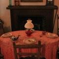 Victorian-era furnishings at Sanchez Adobe.- Sanchez Adobe