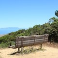 Pacific overlook at top of Brooks Creek Trail.- Brooks Creek Trail