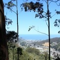 Pacifica seen from Montara Mountain Trail.- Montara Mountain Trail