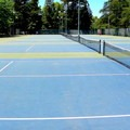 Tennis courts at McKinley Park.- McKinley Park