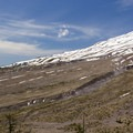 The landscape was irrevocably altered by the 1980s eruption.- Ape Canyon