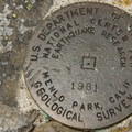 USGS marker on Chinidere Mountain.- Chinidere Mountain + Wahtum Lake Hike