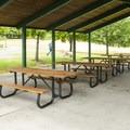 Lake Boran Park picnic shelter #2 (adjacent to the tennis courts).- Lake Boran Park