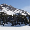 Lassen Peak (10,457').- Lassen Peak: Southeast Face Backcountry Ski