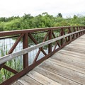 Footbridge over the Mercer Slough.- Mercer Slough Nature Park
