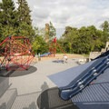Luther Burbank Park playground.- Luther Burbank Park
