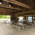 Tolt Barn and picnic shelter at Tolt-MacDonald Park.- Tolt-MacDonald Park