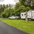 John MacDonald Memorial Campground RV area.- Tolt-MacDonald Park