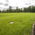 John MacDonald Memorial Campground RV area.- John MacDonald Memorial Campground