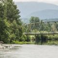 Snoqualmie River at Tolt-MacDonald Park.- John MacDonald Memorial Campground