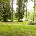 Flaming Geyser State Park picnic area.- Flaming Geyser State Park