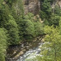 Green River Gorge.- Green River Gorge Bridge Overlook