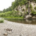 Green River Gorge swimming hole and campsite.- Green River Gorge Swimming Hole