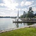 Lake Tapps Park boat ramp and marina.- Lake Tapps Park