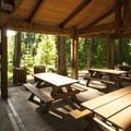 Priest Point Park picnic shelter #3.- Priest Point Park