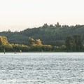 View west across the Columbia River to Oregon.- Louis Rasmussen Day Use Park