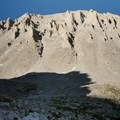 Mount Whitney (14,505') from Guitar Lake.- Mount Whitney, Cottonwood Pack Station