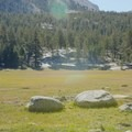 The second-to-last campsite at Crabtree Meadow.- Mount Whitney, Cottonwood Pack Station