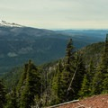 Mount Hood.- Lookout Mountain from High Prairie