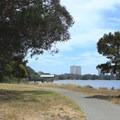 Looking south from Berkeley Aquatic Park.- Aquatic Park