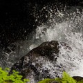 A small waterfall at the main branch of Lost Creek.- Burnt Lake + Zigzag Mountain