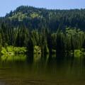 Burnt Lake.- Burnt Lake + Zigzag Mountain