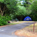 Bullards Beach State Park Campground.- Bullards Beach State Park Campground
