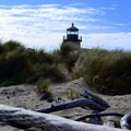 Coquille River Lighthouse.- Bullards Beach State Park