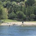 Lake Anza Beach.- Lake Anza