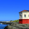 Coquille River Lighthouse.- Bullards Beach State Park Campground