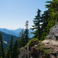 View toward McClellan Butte.- The Tooth