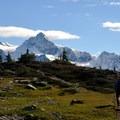 Mount Shuksan (9,131').- Table Mountain