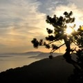 Just before sunset.- Oyster Dome