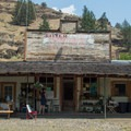 An old general store now serves as the administration building.- Ritter Hot Springs