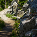 The Elkhorn Crest Trail.- Elkhorn Crest Trail: Lost Lake + Summit Lake