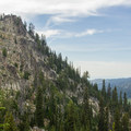 Granite uplift in the Blue Mountains.- Elkhorn Crest Trail: Lost Lake + Summit Lake